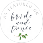 As Featured on Bride and Tonic